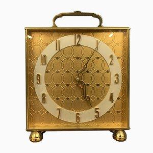 Pendulum Uhr aus Messing, 1970er
