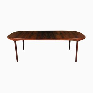 Rosewood Dining Table by Harry Østergaard for Randers Furniture Factory, 1967