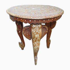 Art Deco Coffee Table on Elephant's Legs