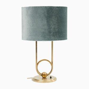 Lampada da tavolo in ottone, anni '50