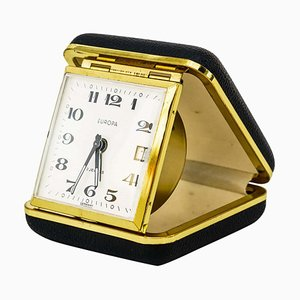 Europe Travel Alarm Clock, 1950s