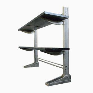 Cast Iron Shelves by Max H. Konig, Early 20th Century