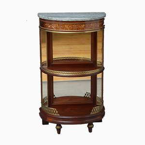 19th Century French Demilune Console Table