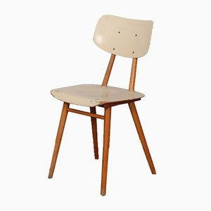 Vintage Wooden Chair from Ton, 1960s