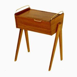Table de Chevet en Hêtre, Suède, 1960s