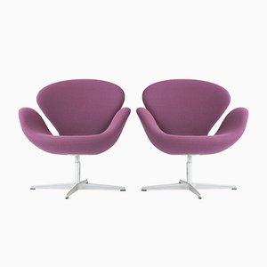 Purple Swan Armchair by Arne Jacobsen for Fritz Hansen, Denmark, 1958