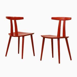 J111 Stühle von Poul M. Volther für FDB, 1970er, 2er Set