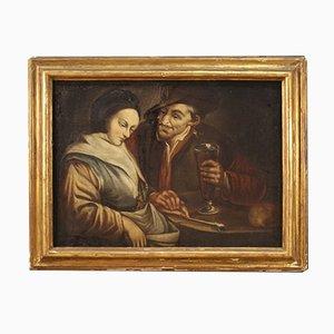 Antike Malerei, Öl auf Leinwand, 18. Jahrhundert
