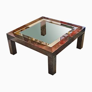 Parchment Coffee Table by Aldo Tura, 1970s