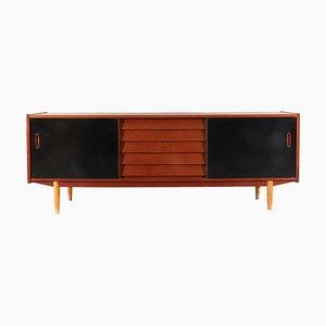 Modell Trio Teak Sideboard von Nils Jonsson für Hugo Troeds, 1960er
