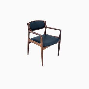 Chaise de Bureau en Palissandre, Danemark, 1960s
