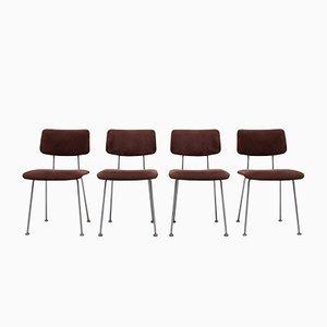 Esszimmerstühle von AR Cordemeijer für Gispen, 1960er, Holland, 4er Set
