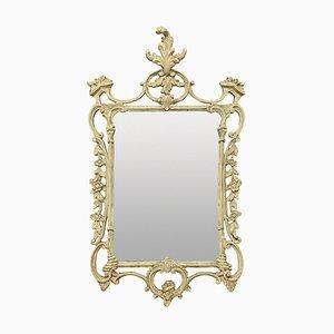 Specchio Chippendale in legno intagliato e dipinto, Regno Unito