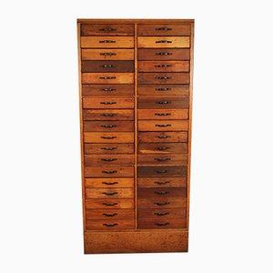 Large Haberdashery Cabinets, Set of 2