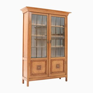 Art Nouveau Arts & Crafts Oak Bookcase Attributed to K. P. C. de Bazel, 1900s