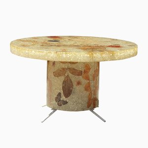 Resin Coffee Table from Accolay, France 1960s