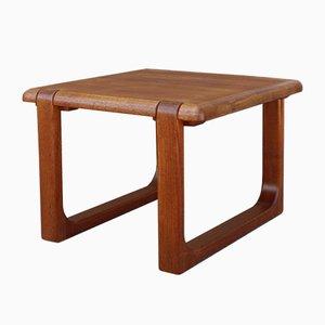 Niedriger skandinavischer Tisch im brutalistischen Stil von Niels Bach für Mobelfabrik Randers, Denmark, 1960er