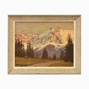 Landscape Painting, 20th Century