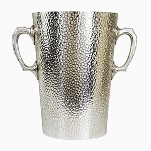 Large Hammered Alpaca Champagne Cooler for Bottles of Up to 3 Litres