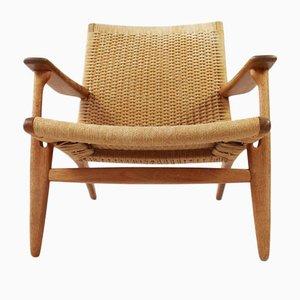 Model CH25 Lounge Chair by Hans J Wegner for Carl Hansen & Son, Denmark
