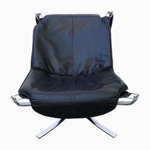Stahl Falcon Chair von Sigurd Resell für Vatne Møbler, 1970er