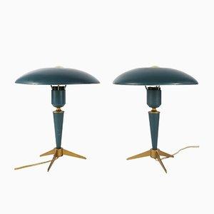 Lampes de Bureau Expo 58 Tripodes par Louis Kalff pour Philips, 1950s, Set de 2
