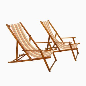 Deckchairs from Herlag, 1970s, Set of 2
