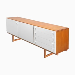 White and Pine Wood Oregon Sideboard by Cees Braakman for Pastoe, 1960s