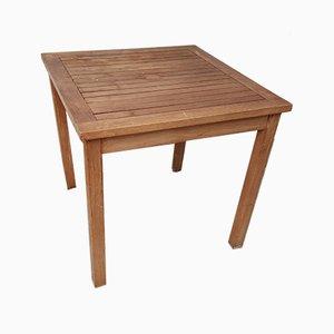 Vintage Solid Teak Side Table