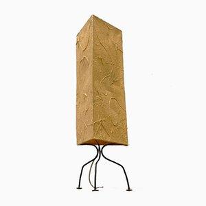 Lampe de Bureau Tripode Mid-Century en Papier
