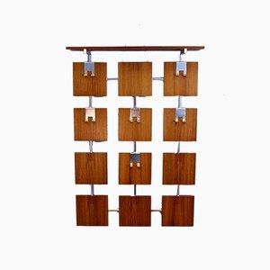 Anpassbare Garderobe aus Palisander, 1970er