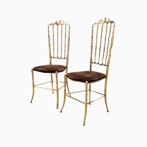 Mid-Century Chairs by Giuseppe Gaetano Descalzi for Chiavari, 1950s, Set of 2