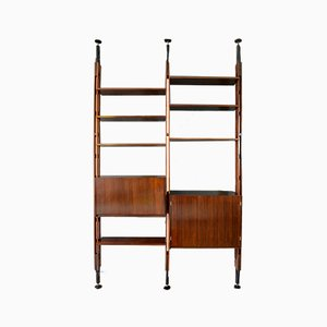 Giraffe Rosewood Bookcase by Paolo Tilche for Arform, Italy, 1960s