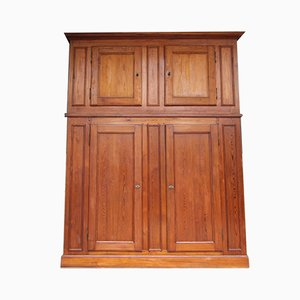 Large French Pine Cabinet