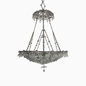 Chandelier with Crystal Beads