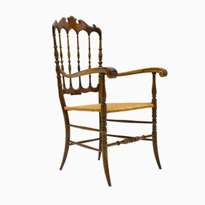 Chiavari Wooden Chair from Rocca, 1960s