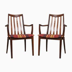 Vintage Esszimmerstühle von G-Plan, 1960er, 2er Set