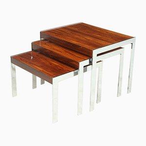Mid-Century Nesting Tables from Merrow Associates, Set of 3