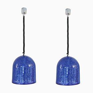 Lampes à Suspension par Gae Aulenti pour Vistosi, Set de 2