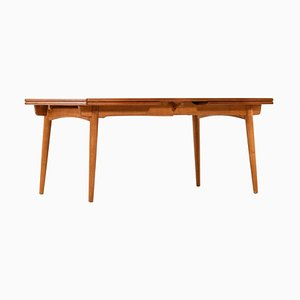Table de Salle à Manger Modèle AT-312 par Hans Wegner pour Andreas Tuck, Danemark