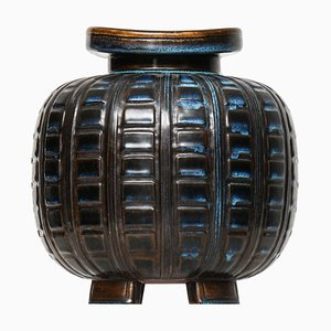 Vaso modello Farsta di Wilhelm Kage per Gustavsberg, Svezia