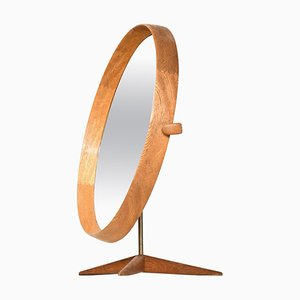 Miroir de Table par Uno & Östen Kristiansson pour Luxus, Vittsjö, Sweden