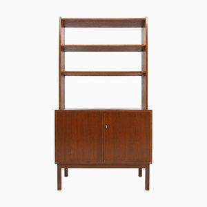 Teak Bookcase or Cabinet, Denmark, 1960s
