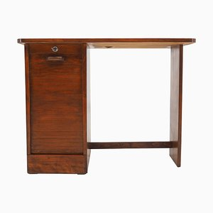 Mid-Century Free Standing Desk, Czechoslovakia, 1960s