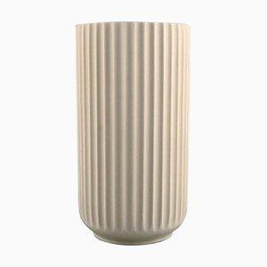 Porcelain Vase from Lyngby, 1936