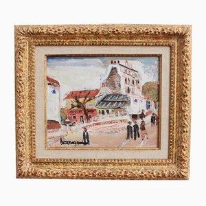 La Butte Montmartre by Lucien Genin, 1930s