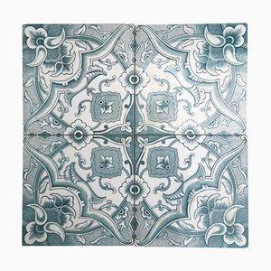 Art Deco Tile from Boch Freres, La Louvière, 1920s