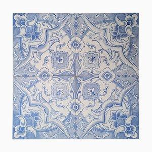 Antique Tiles from Boch Freres, Louvière, 1930s