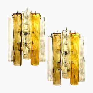 Große Wandleuchten aus Murano Glas von Barovier & Toso, 2er Set