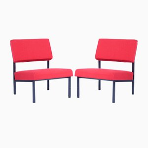 Model 36 ZA Easy Chairs by Gijs Van Der Sluis, Set or 2